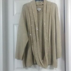 Avenue sweater with scarf